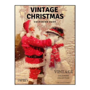Vintage Christmas Colouring Book Colour Guide ebook